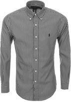 Ralph Lauren Slim Stripe Shirt Black