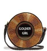 SARAH'S BAG Golden Girl embellished crossbody bag