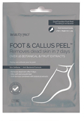BeautyPRO FOOT & CALLUS PEEL with over 17 Botanical and Fruit Extracts 40g