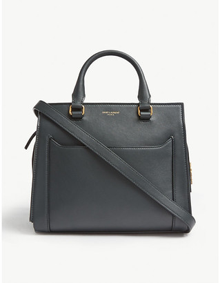 Saint Laurent East Side baby leather tote