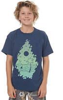 Volcom New Boys Kids Boys Stoney Beach Tee Crew Neck Short Sleeve Cotton Blue