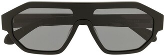 Karen Walker Tribon oversized sunglasses