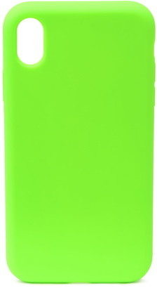 Felony Case Neon Green Silicone iPhone XR Case