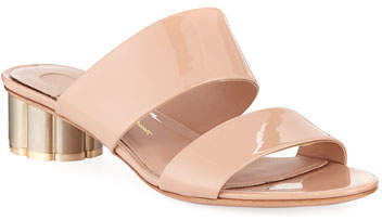 Salvatore Ferragamo Patent Leather 30mm Sandal