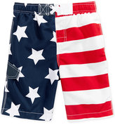 Kanu Surf Stars & Stripes Swim Trunks, Toddler & Little Boys (2T-7)