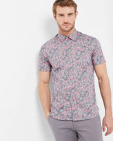 Pink Floral Shirt Mens - ShopStyle