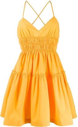 Mia shirred dress