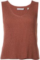 Vince sleeveless top - women - Cotton - XS