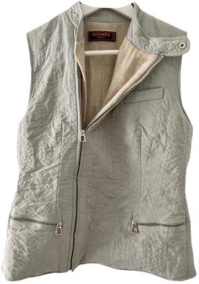 Hermes Beige Cashmere Jackets