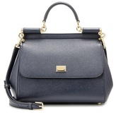 Dolce & Gabbana Miss Sicily Medium Leather Shoulder Bag