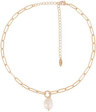 Ettika Pearl Pendant Necklace