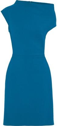 Lanvin Asymmetric Wool-blend Dress