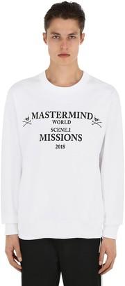 Mastermind Japan Missions Printed Cotton Sweatshirt