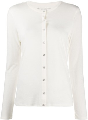 Majestic Filatures Button-Up Knitted Tp
