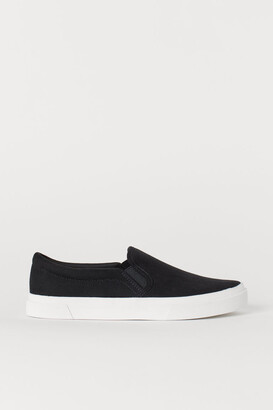 H&M Slip-on Shoes - Black