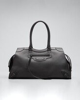 Thumbnail for your product : Balenciaga Neo Classic Large Grained Leather Weekender Satchel