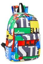 Stella McCartney Kid's Bang Skull Cotton Backpack