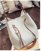 TOP SHOP BAG Top Shop Womens Bucket Tassels Weave Totes Shoulder Messenger Bags Handbags Hobos