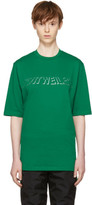 Cottweiler Green Holographic Logo T-shirt