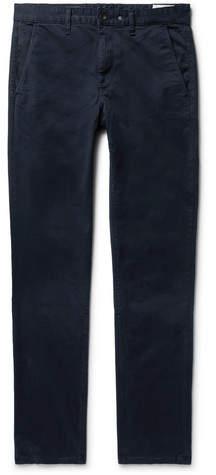 Rag & Bone Fit 2 Slim-Fit Garment-Dyed Cotton-Twill Chinos