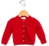 Gucci Girls' Cashmere Bow-Accented Cardigan