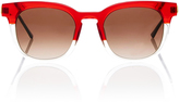 Thierry Lasry Penalty Champagne-Red Tone Acetate Sunglasses