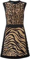 Alberta Ferretti animal print dress