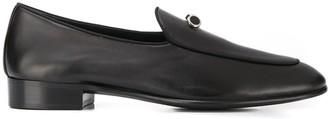 Giuseppe Zanotti Embellished Leather Loafers