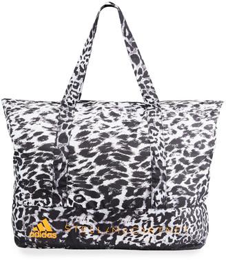 adidas by Stella McCartney Leopard-Print Tote Bag