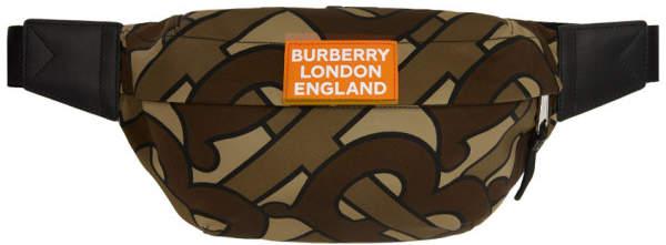 Burberry Brown Monogram Sonny Bum Bag