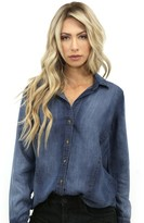 Bella Dahl Seams Shirt in Indigo Haze
