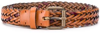 Missoni Two-Tone Braided Belt
