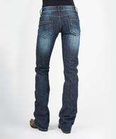 Stetson Blue Denim Stitched Jeans - Women & Plus