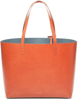 Mansur Gavriel Large Tote - Brandy/Avion