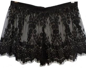 Carol Coelho Calla Lily Floral Lace Shorts