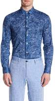 Ganesh Cotton Floral Long Sleeve Shirt
