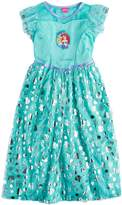 Disney Disney's Ariel & Flounder Girls 4-8 Dress-Up Nightgown
