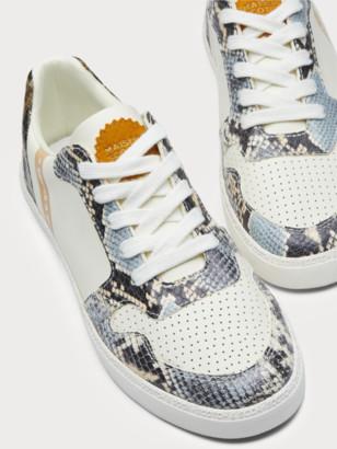 Scotch & Soda Laurite - faux snakeskin sneakers | Women