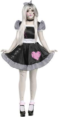 Fun World Costumes Women's Broken Doll Adult Costume