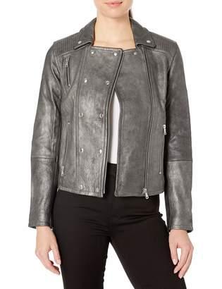 J Brand Jeans Women's Valo Leather Jacket