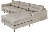 Logan Reversible Sectional Gus* Modern Upholstery Color: Caledon Antler