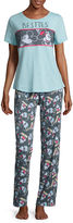 Disney Cotton Pant Pajama Set-Juniors