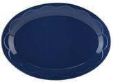 Kate Spade All In Good Taste Navy Ceramic Serving Platter