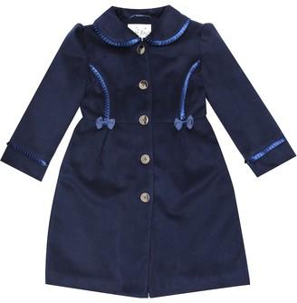 Rachel Riley Satin-trimmed coat
