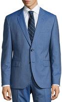 HUGO BOSS John Pinstriped Two-Piece Suit, Medium Blue
