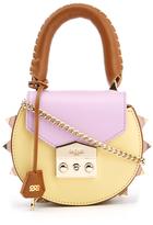 SALAR Women's Mimi Mini Bag Marrone/Lilla