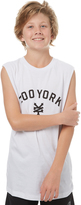 Zoo York Kids Boys Slate Muscle White