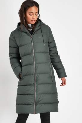 Jack Wolfskin Womens Crystal Palace Padded Coat - Green