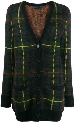 Polo Ralph Lauren checked V-neck cardigan