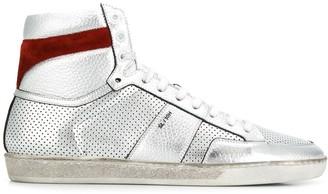 Saint Laurent Court Classic hi-top sneakers